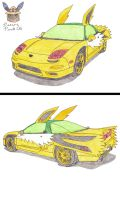 Honda NSX Jolteon Edition by Sir-Genesis