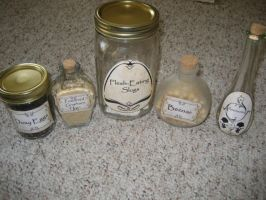 Potion Ingrediants by tkdgirl368