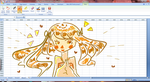 Microsoft Excel tim- oh wait.. oops by teto-and-rin