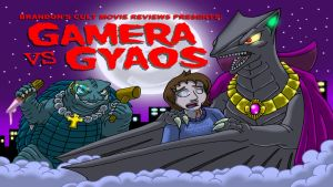 Brandon's Cult Movie Reviews: Gamera vs Gyaos by Enshohma