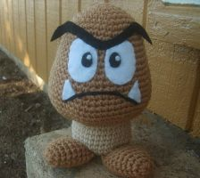 Mario Brothers' Goomba by W0IfDreamer