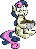 Bon-bon brought the salad by Senselesssquirrel