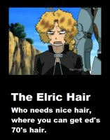 the Elric hair by peppermix14