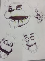 Welcome to Five Nights at Freddys WIP by Twitchy-Dingo
