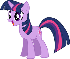Twilight Sparkle OMG face by Kmacmcglikesart