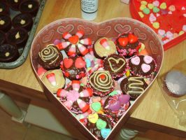 Valentine's Day Chocolate Box by FareWellLee