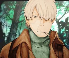 Mushishi::.. by InitiallyBones