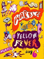 Warble Yellow Fever Flyer by hyronomous