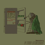 Dalek's Apple A Day by CombustibLemons