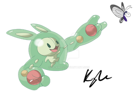 Reuniclus - The Happy Baby by DC-KMOS