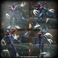 Symbiote Nightcrawler Figure by symbiote-x