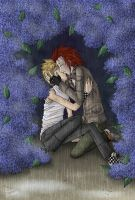 KH2 BL -- In The Rain by lady-obsessed