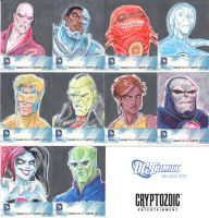 Cryptozoic DC 52 Sketch Cards by DanSchoening
