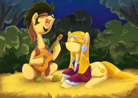 Songs of Love by DawnAllies