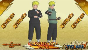 Naruto - The Gutsy Ninja PACK 1! (FOR XPS) by MVegeta