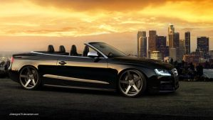 Audi RS5 Convertible Render by JAdesigns75