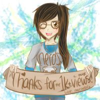 Thanks for the 1k Views! by TheRaedar