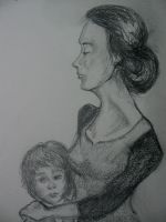 Mother and Child by FaerieCarousel