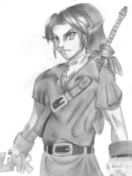 link in pencil by Phoethor