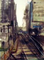 The Brown Line by Essiss