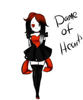 Contest entry : Dame of Hearts by Ask-ZealIpod