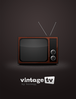 Vintage TV by tomeqq