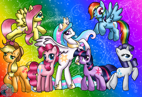 My Little Pony: Friendship is Magiiiicc by xxAlyMetalGirlxx