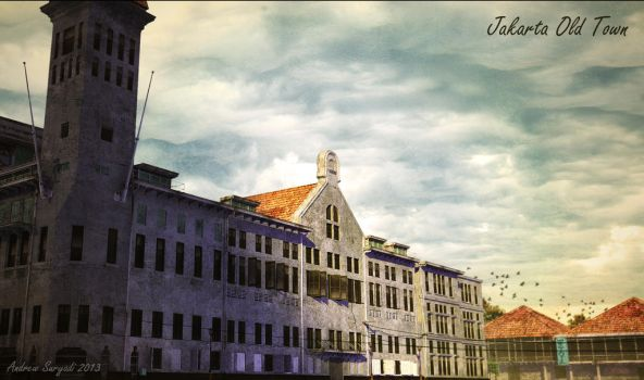 Jakarta Old Town 3 by Androgs
