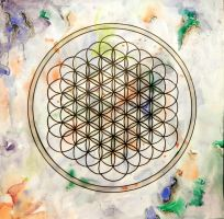 Flower Of Life by Linnantah
