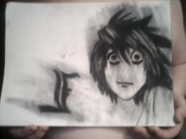 L from death note by shaelaisme1997