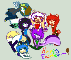 .:+Happy Easter+:. by CookieloveX3
