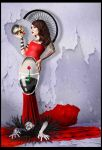 Lady in Red by AusraKel
