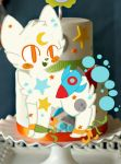 Spacey Cake Buranku Pup: Australphilia by BadWithIdioms
