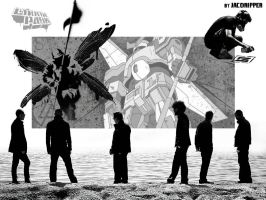 Linkin Park Albums Wallpaper2 by Jacoripper