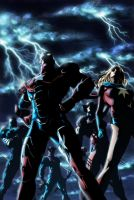 Dark Avengers issue 1 cover by wordmongerer