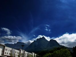 Sky and mountain by KalvinK