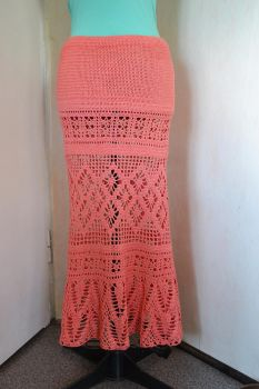 Crochet Skirt by dosiak