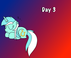 Day 3: Sleeping Ponies by WillowTails