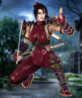 Taki(P1) Soul Calibur IV by XKammyX