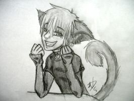 Neko boy THE PICTURE by NoNutritionalValue