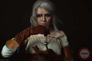 Cirilla - The Witcher: Wild hunt by TophWei