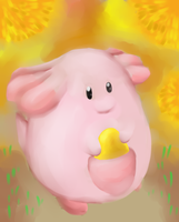 Chansey by CleverConflict