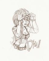 Gift : Dhan_sketch by Seadre