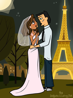 TDI DxC - Wedding in Paris by Striddums