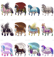 5-Point Horse Adopts by Darchaliath