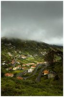 Madeira - Road near Funchal by damnengine