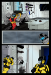 Rise of the Maximals #1 Pg 6 - Colours by LisaSky-Art