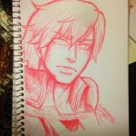 Chrom (fea) color sketch by KingLuneartic