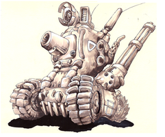 Metal-Slug by LuckyPupa