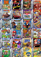 Mario's Gameboy Advance Games by sonictoast